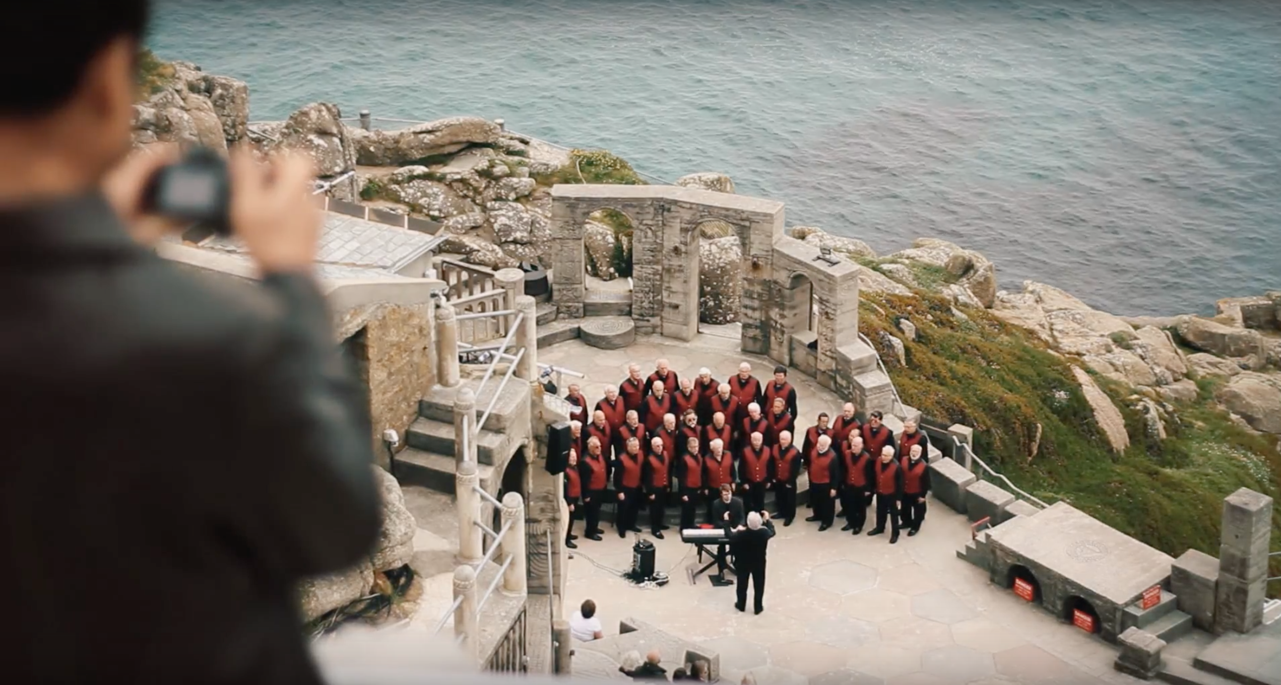 Video Marketing the Cornwall International Male Choral Festival