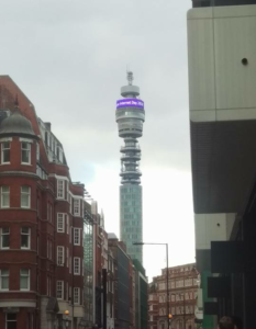 huge success SID TV 2018 Safer Internet. BT Tower featuring the Safer Internet Day Campaign.