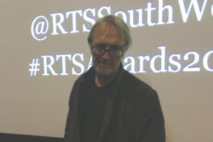 Film Director Nigel Cole at RTS Student awards 2018