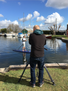 Visit South Devon Experience stand-up paddle boarding 360 VR