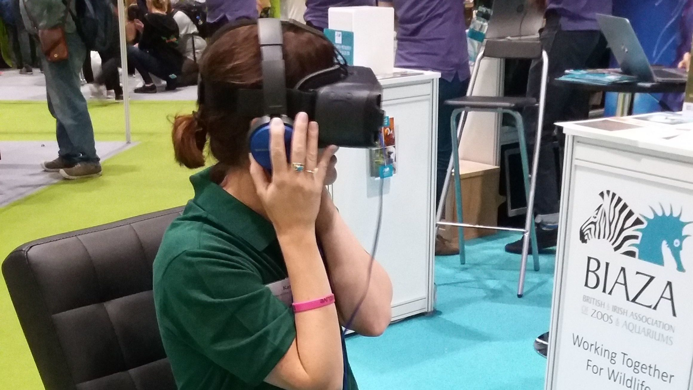 Join the queue for our latest 360 VR video | New Scientist Live 2017