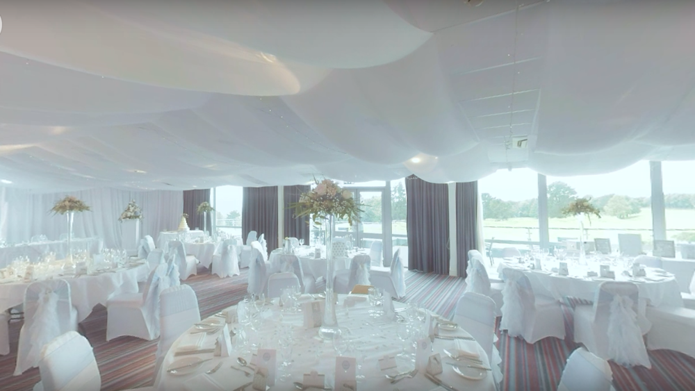 Promoting the Perfect Wedding Venue | 360 time lapse video