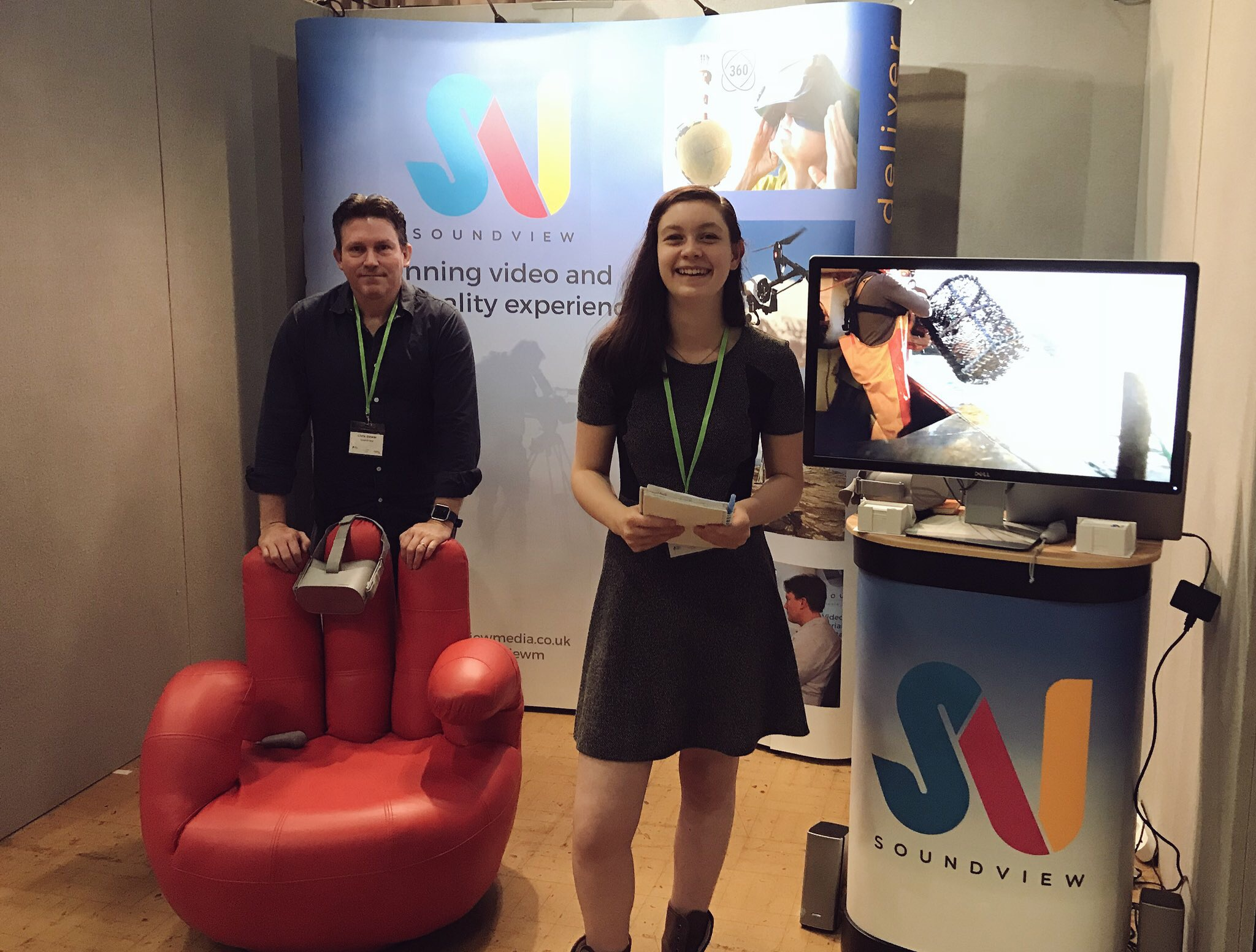 Our 360 VR Devon Business Show Success