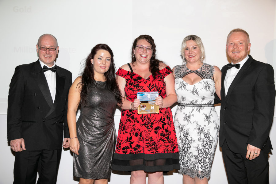 Winning smiles at the Cornwall, Dorset and Devon Tourism Awards