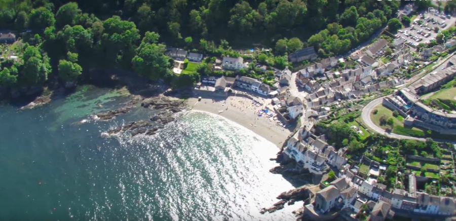 Aerial Video of Cornwall Features in Salvage Hunters