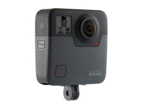 The Gopro Fusion 360 camera.