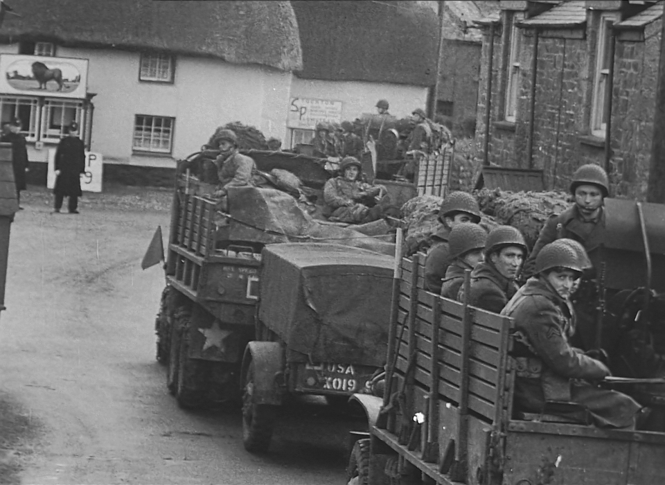 WW2 US troops in Mawnan Smith Trebah VR film blog