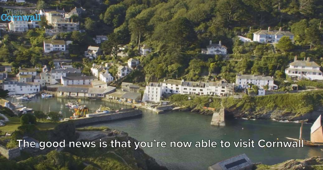 Visit Cornwall's New Video Welcomes Back Visitors