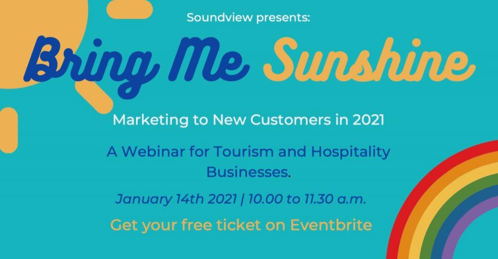 Bring Me Sunshine webinar banner