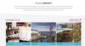 Visit Cornwall Travel and Trade Videos produced by Cornwall and Devon video production company Soundview Media